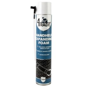 4TRADE Expanding Handheld Foam Filler 750ml
