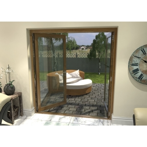 Pattern 10 Fully Finished Oak French Doors