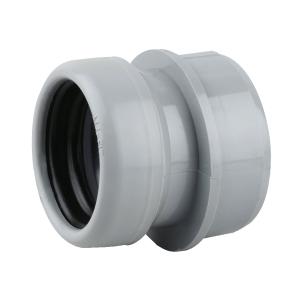 OsmaSoil 2S399G 40mm Ring-Seal Boss Adaptor Grey