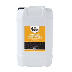 4Trade Mortar Plasticiser 25 Litre