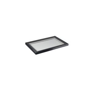 Vista Glaze Flat Rooflight 1000 x 1500mm Greyral 7016 Interior / Exterior