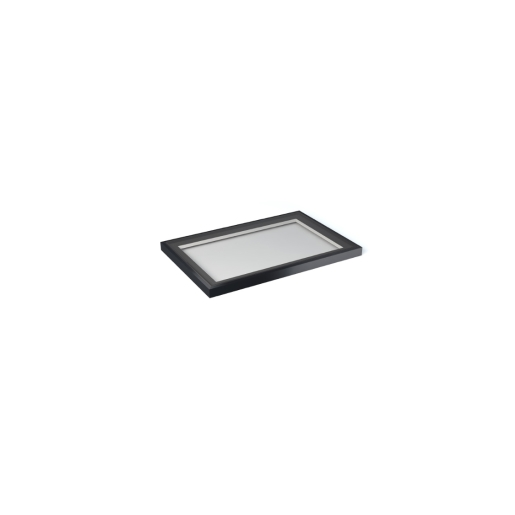 Vista Glaze Flat Rooflight 1000 x 1500mm Greyral 7016 Interior / Exterior