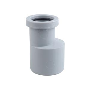 Osma Waste 87.5¡ push-fit bend grey 40mm