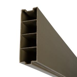 Durapost Composite Gravel Board Olive Grey 1830mm Home Delivered