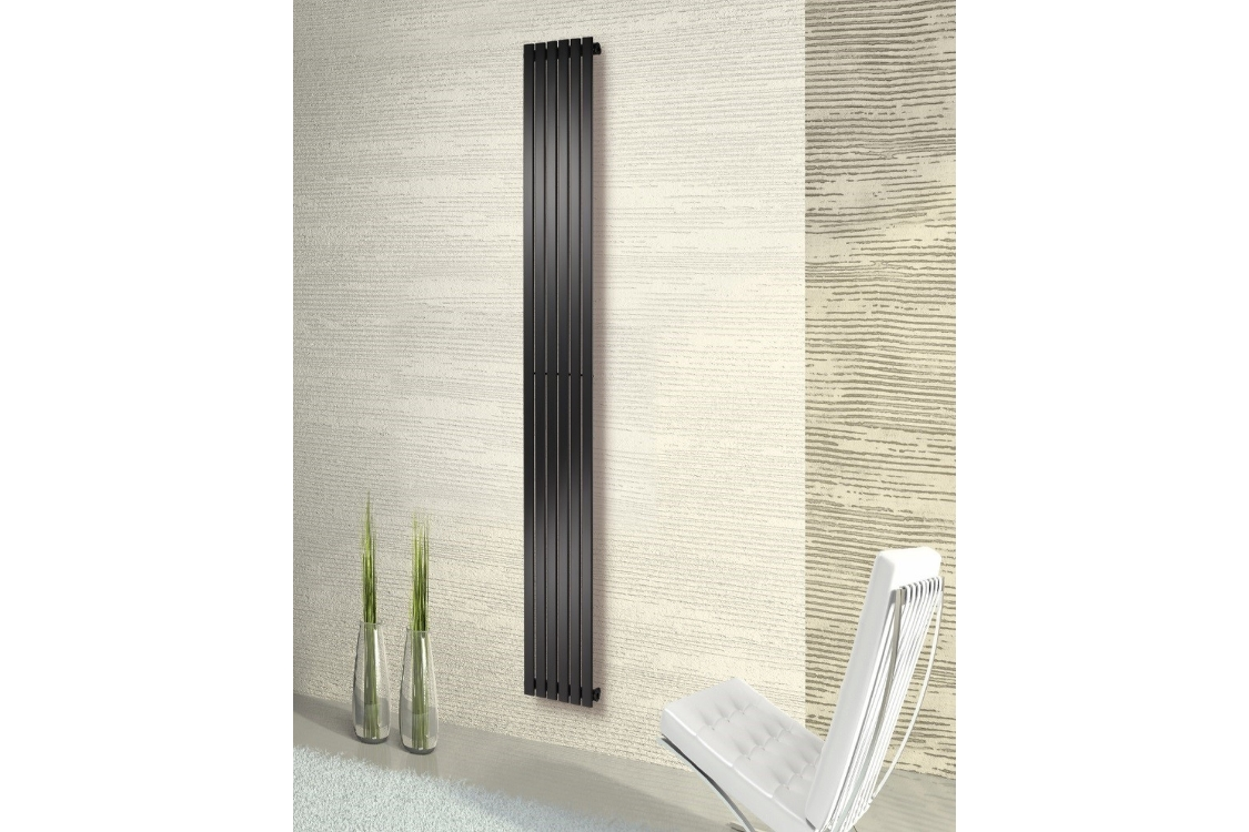 Merlo Vertical Chrome Radiator 1800mm x 435mm