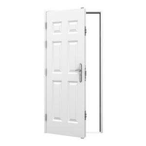 6 Panel Steel Door 995 x 2020mm