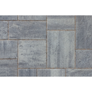 Tobermore Historic Concrete Paving Slabs Slate Riven Stone Effect 14.04m2
