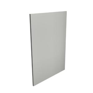 Gloss Light Grey 18mm Base Decor End Panel MTRP-285304