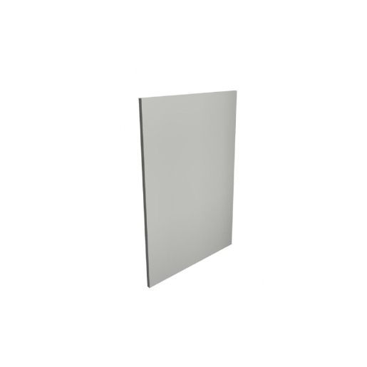 Gloss Light Grey 18mm Base Decor End Panel MTRP-285304
