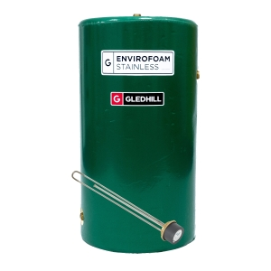 Gledhill SE42X18IND Indirect Envirofoam Lagged Steel Cylinder 140L 1050mm x 450mm