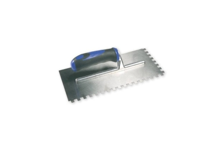 Genesis 909 10 x 10mm Soft Grip Square Notch Trowel 280 x 130mm