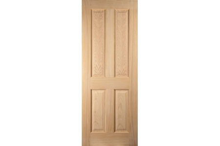 Jeld-wen Oregon 4 Panel American White Oak Interior Door 2040x626mm