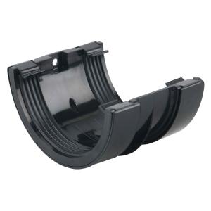 Osma RoundLine 0T005 Gutter Jointing Bracket 112mm Black
