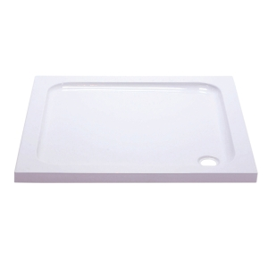 iflo Abs Capped Slimline Stone Shower Tray 900mm x 900mm