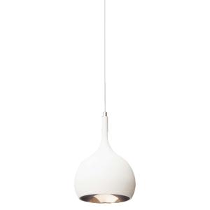 Sycamore Parma Pendant Light Matt White & Copper