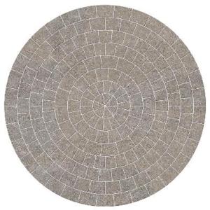 Marshalls Drivesett Tegula Circle Pack Pennant Grey 2600mm x 50mm
