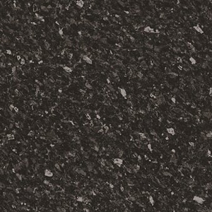 Laminate 38mm Worktop Radius Edge Black Slate Satin
