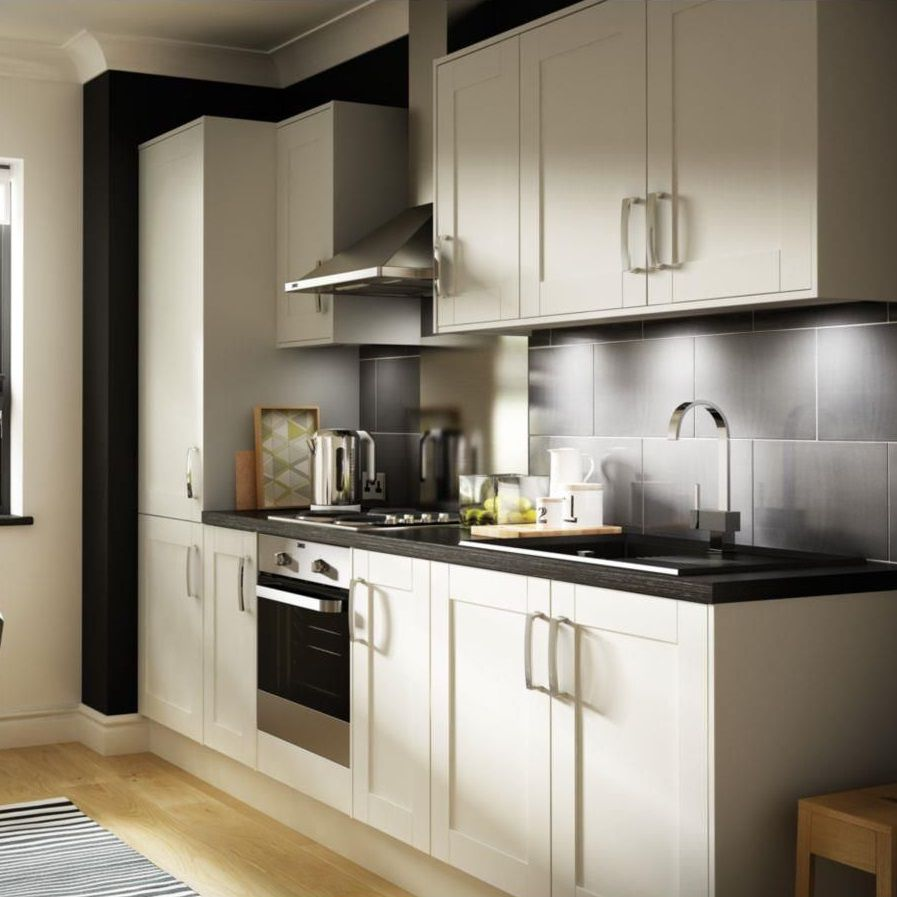 Orlando White Gloss Kitchen