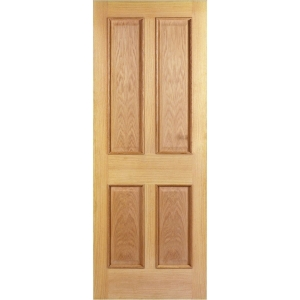 Internal 4 Panel Oak Raised Mouldings Door 1981 x 686 x 35mm