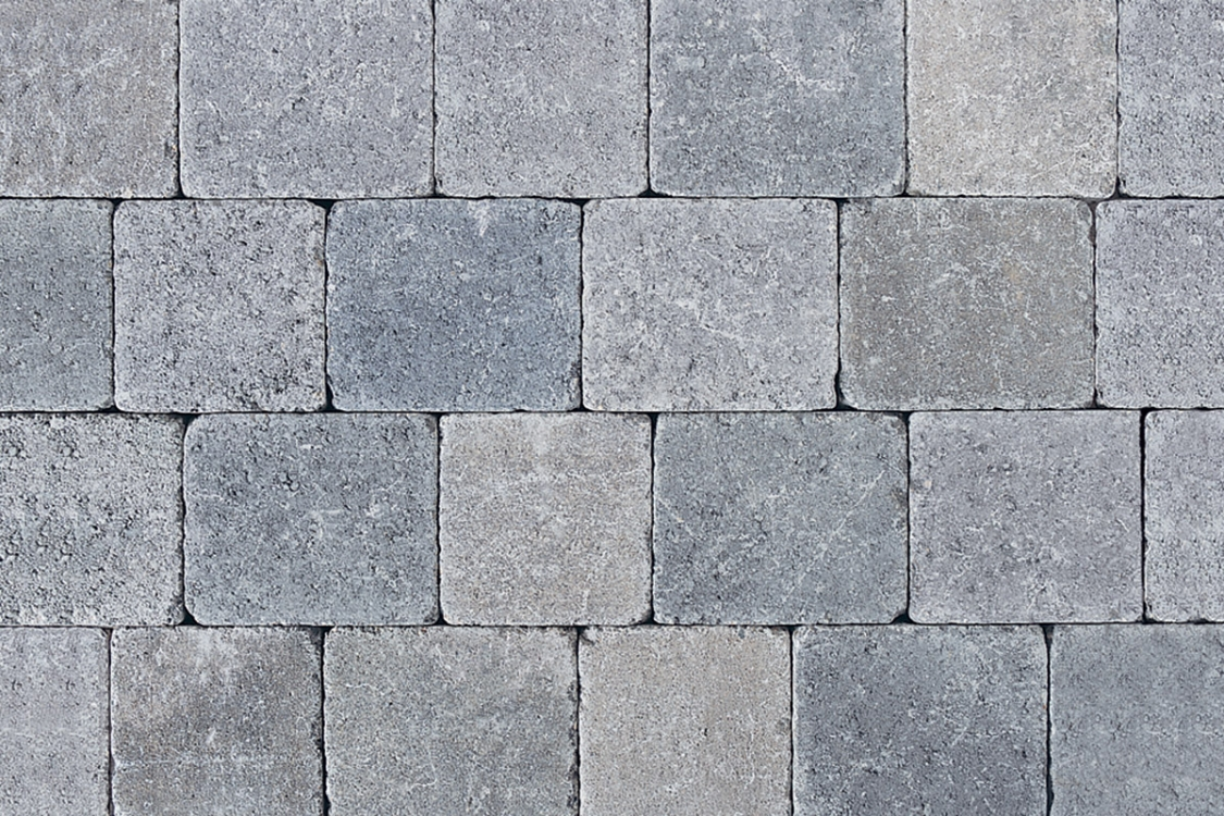 Tobermore Tegula Decorative Concrete Block Paving in Slate - 175x140x50mm