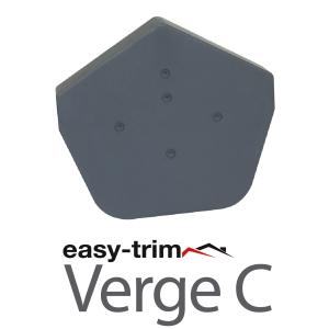 Easy Trim Easyverge A Ridge Cap And Flapcap Grey