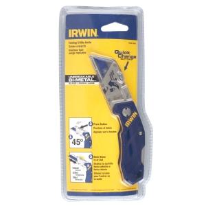 Irwin Folding Blade Knife 10507695