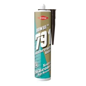 Dow Corning 791 Silicone Waterseal Sealant Brown 310ml
