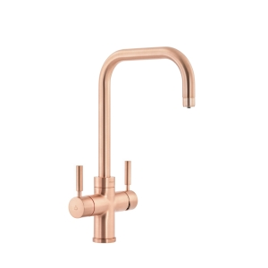 Abode Protex 3 in 1 Instant Hot Water Monobloc Kitchen Mixer Tap Urban Copper PT1126