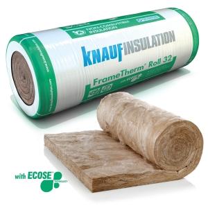 Knauf Insulation FrameTherm Roll 32 4500mm x 1140mm x 90mm