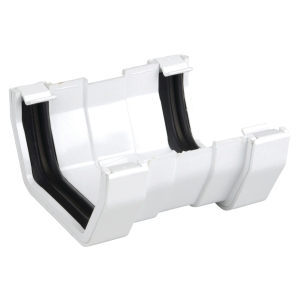 Osma SquareLine 4T809 Gutter Union 100mm White