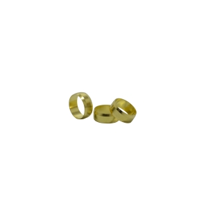 4Trade 15mm Brass Olives (Pack of 10)