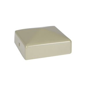 Durapost Fence Cap with Bracket Olive Grey 75 x 75mm Home Delivered