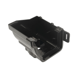 Osma StormLine 8T807 Stopend Outlet Left-Hand 111mm Black