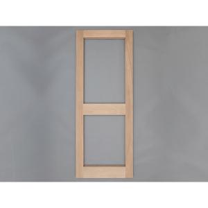 Solid Oak External Door 2XGG External Door Custom size