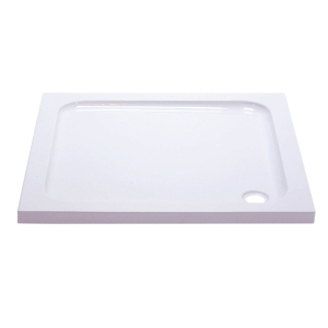 iflo Abs Capped Slimline Stone Shower Tray 760mm x 760mm