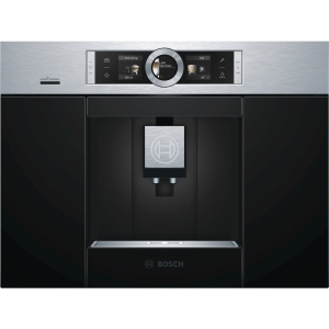 Bosch Serie 8 Integrated Coffee Machine Stainless Steel with Home Connect - CTL636ES6