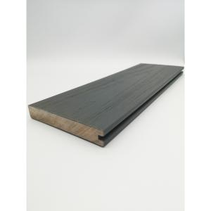 Alchemy Urban Solid Wood Composite Decking 22mm x 138mm x 3600mm Square Edge Board Mull Dark Grey