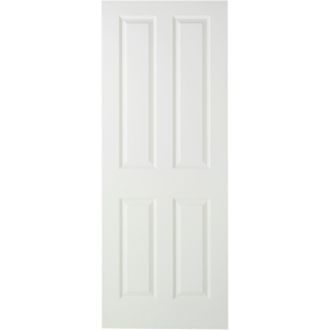 Internal 4 Panel Smooth 30 Min Fire Door 1981 mm x 838 mm x 44 mm
