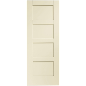 Internal Fully Finished Shaker 4 Panel Door (Chantilly)