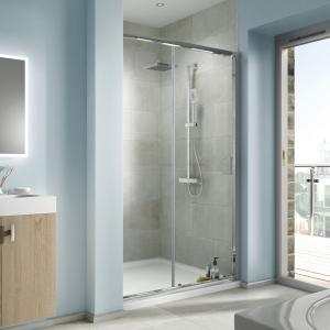 Bathrooms By Tp Edessa Sliding Shower Enclosure Door 1000mm