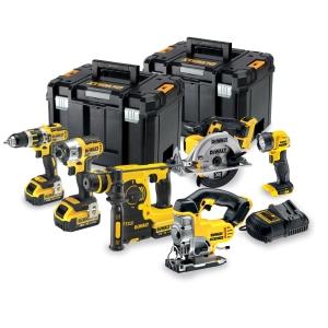 DEWALT 18V XR Brushless 6 Piece Power Tool Kit