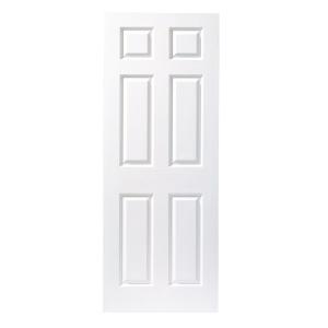 Moulded 6 Panel Grain Midweight Internal Door