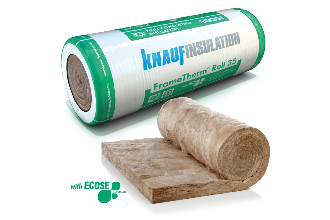 Knauf Insulation FrameTherm Roll 35 3900mm x 1140mm x 140mm