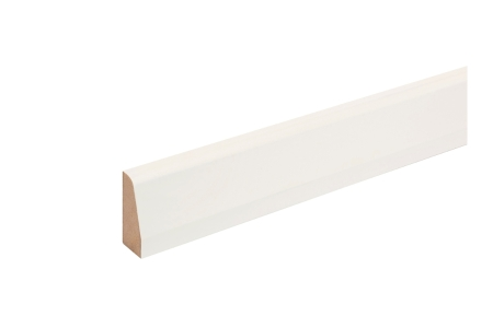 MDF Painted TRUprofile Chamfered Round Architrave 14.5 x 44 x 2.44m
