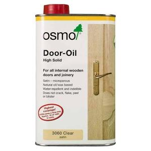 Osmo Door Oil Clear Satin 1L
