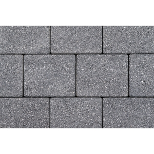 Tobermore Sienna Duo Block Paving in Graphite - Two sizes in one pack. 13.86m2 coverage
