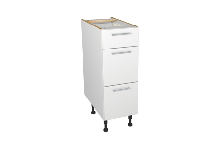 Orlando Gloss White Kitchen Drawer Unit 300mm