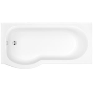 iflo Rennes P Shaped Left Hand Bath 1700mm x 750mm