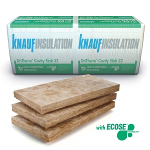 Knauf Insulation DriTherm 32 Cavity Insulation Slab