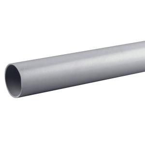 Osmaweld 5Z074G 40mm Plain Ended Pipe Grey 4m